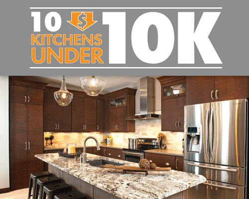 10 kitchens under 10