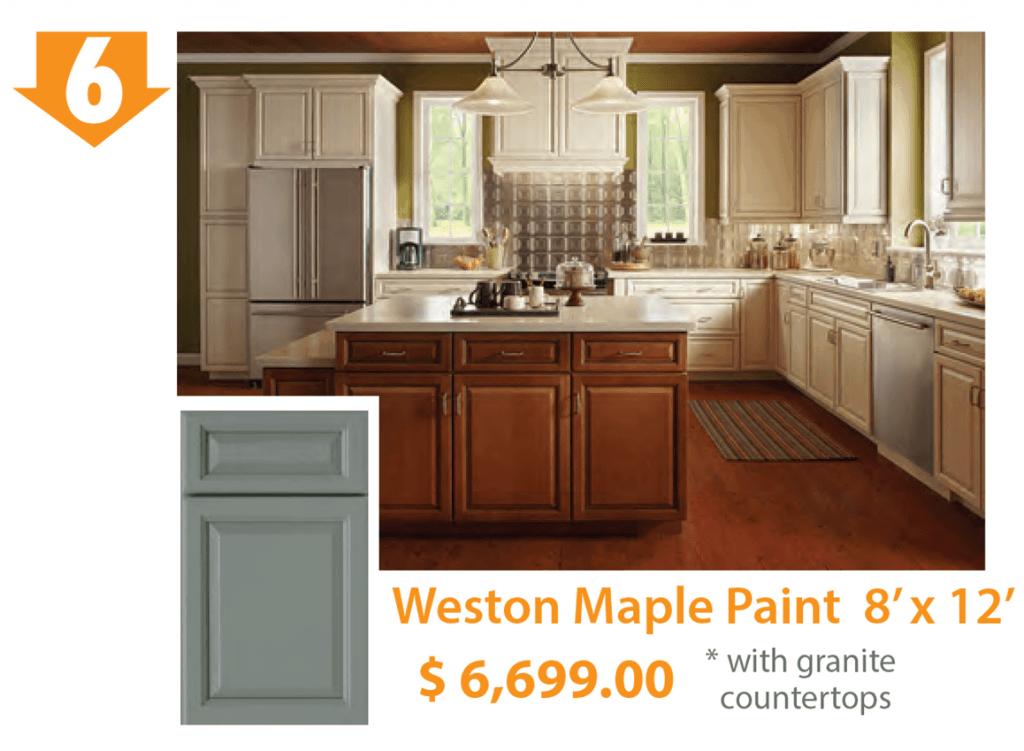 Weston Maple Paint Kitchen