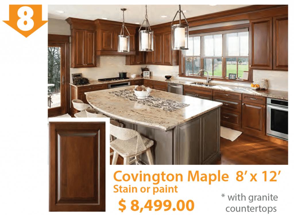 Covington Maple Kitchen