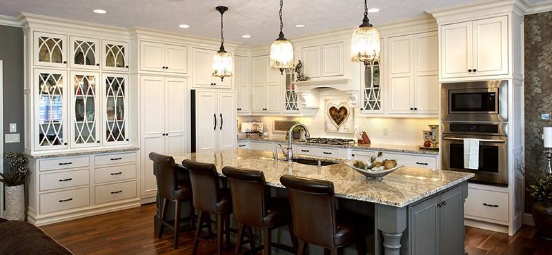 custom kitchen design by Showplace