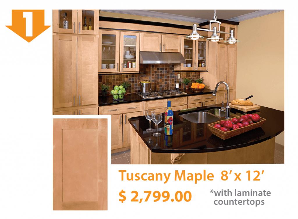 Tuscany Maple Kitchen