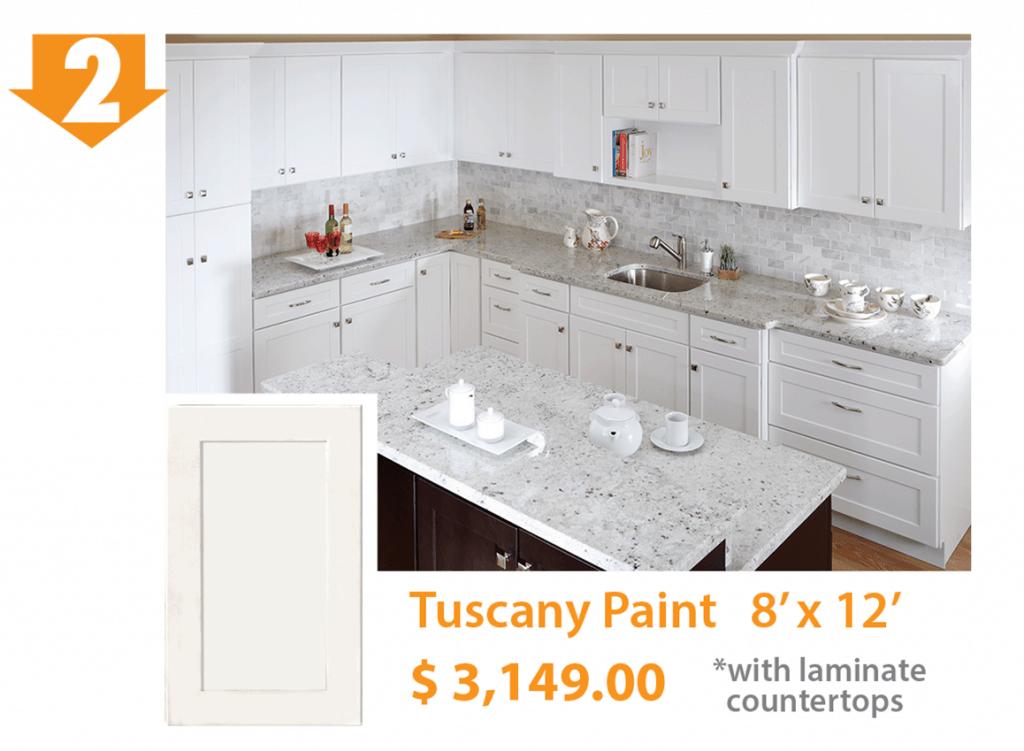 Tuscany White Kitchen