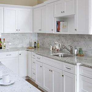 Tuscany White Cabinets photo