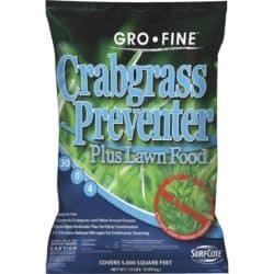 Gro-Fine Lawn Fertilizer With Crabgrass Preventer