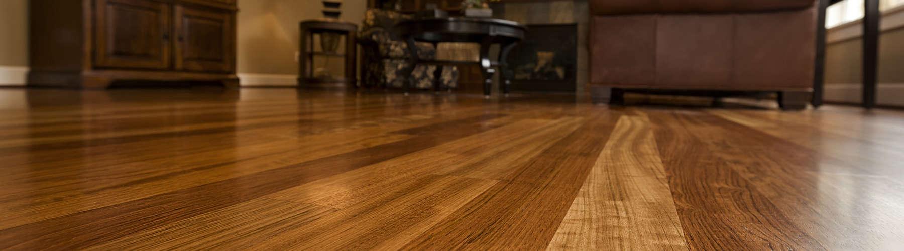 Beautiful New Hardwood floors home interior