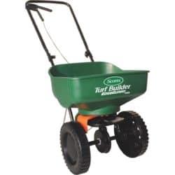 lawn spreader - fall supplies