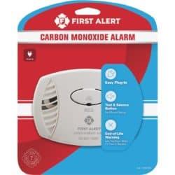 carbon monoxide alarms - fall supplies