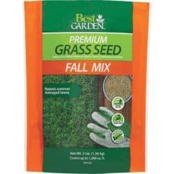 grass seed - fall supplies