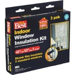 window insulation kits - fall supplies