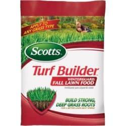 fall lawn food - fall supplies