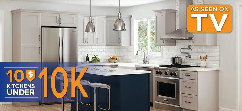 10 Kitchens Under $10000 header