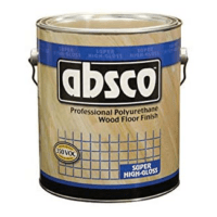 absco polyurethane wood floor finish