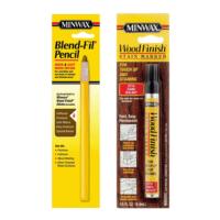 minwax blend-fil pencil and minwax wood finish stain marker