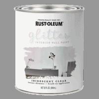 Rustoleum Glitter Paint