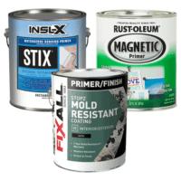 INSL-X STIX primer, Rustoleum Magnetic Primer, Fix All Mold-Resistant Primer