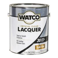 WATCO crystal clear lacquer