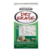 rustoleum dry erase paint