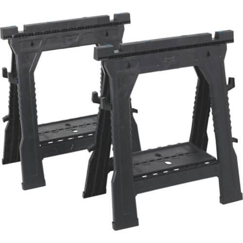 2-Pk. Folding Sawhorses