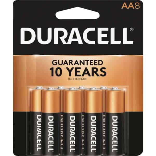 Duracell AA Batteries 8-Pk.