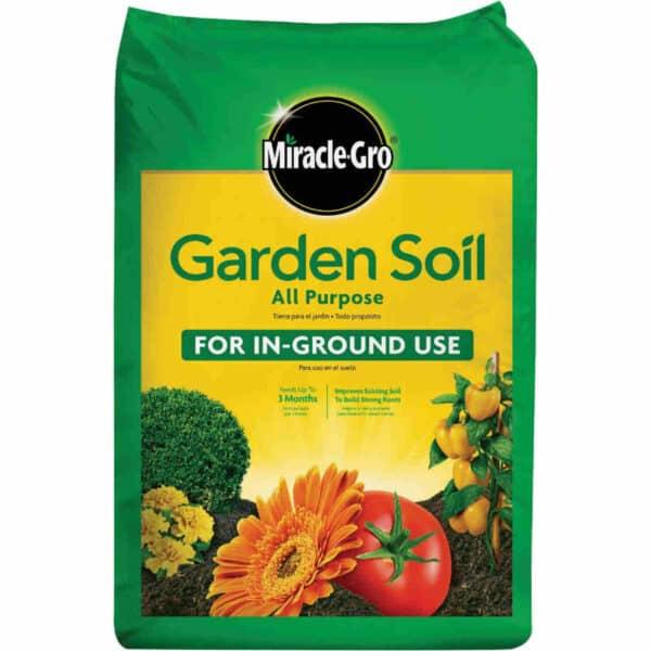 MiracleGro Garden Soil